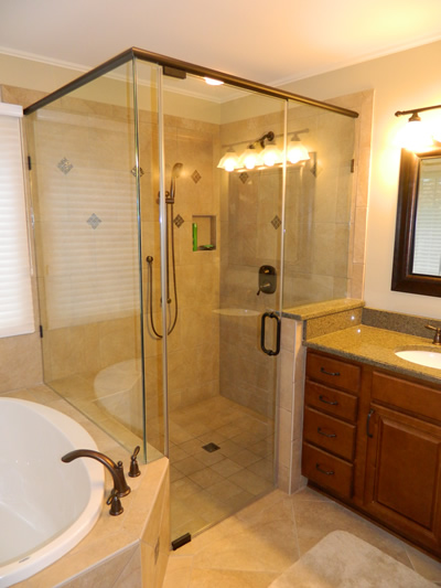 Custom Showers Lake Norman Nc Carolinas Custom Kitchen Bath Center