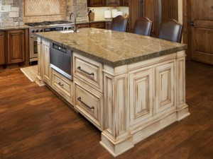 Antique-kitchen-island