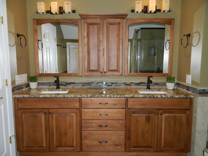 bathroom cabinetry