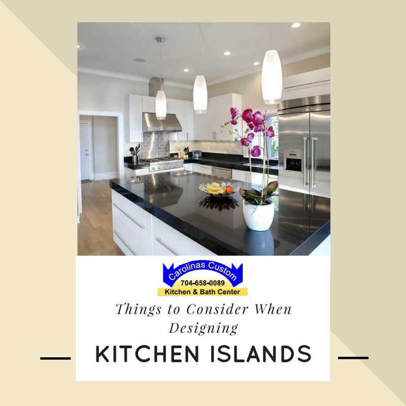 Things to Consider When Designing Kitchen Islands