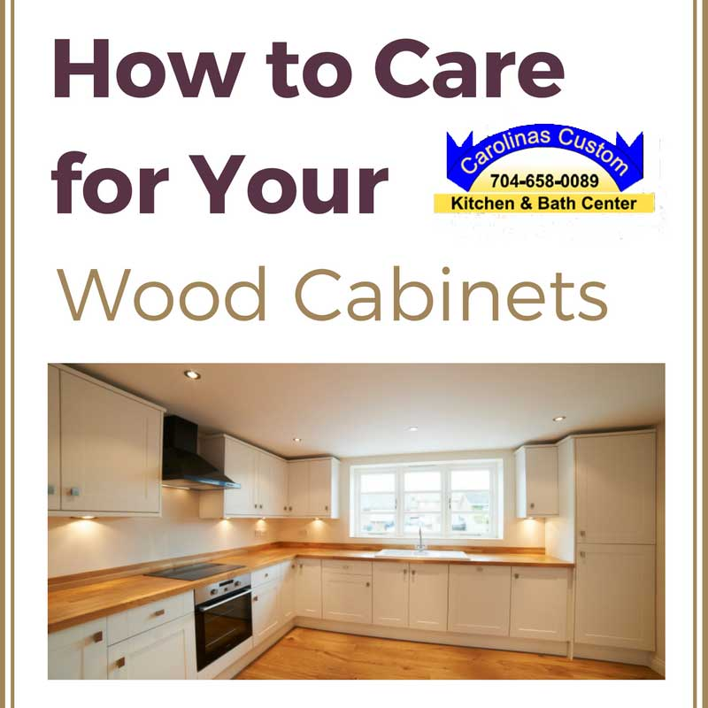 How to Care for Your Wood Cabinets