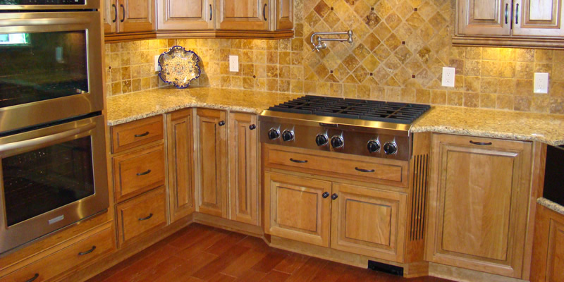 Wood Kitchen Cabinets in Mooresville, North Carolina