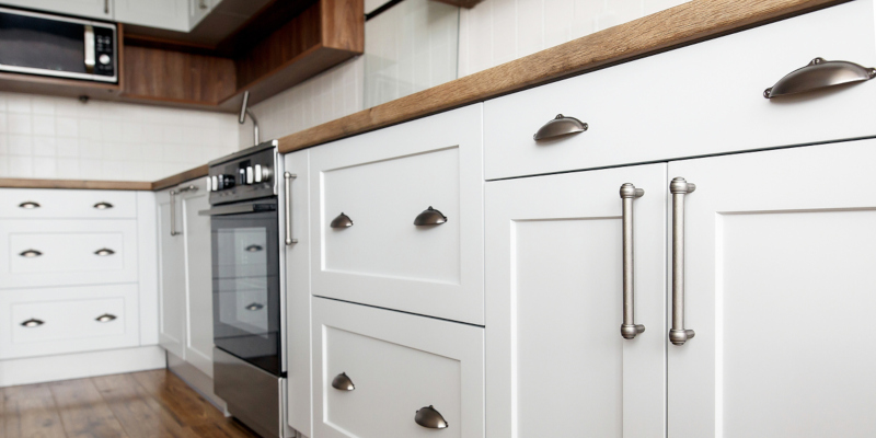 new cabinets can create more storage and can make your kitchen space