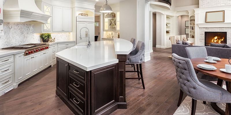 kitchen islands create a focal point and a lot of extra storage for your kitchen